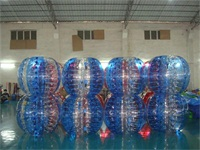 Half Color Inflatable Bumper Balls for Sale
