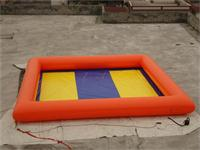 Strong Style Colorful Inflatable Pool Games