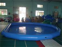 Customized Strong Style Large Blue Inflatable Pool