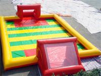 Air Seald Large Inflatable Soccer Field Multi Colors