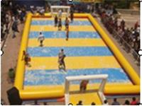 Giant Inflatable Soccer Field in 18m Long