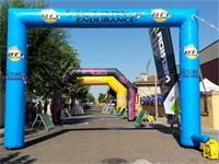 Custom Arco Ptt Adevertising Inflatable Square Arch Screen