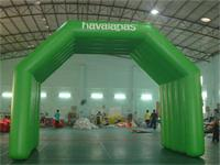 New 26 Foot Full Green Air Sealed Welding Inflatable Arch Tent